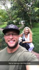 My son & I exploring Thailand.