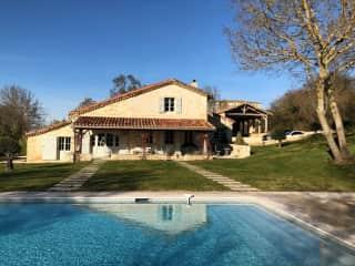Farmhouse with pool