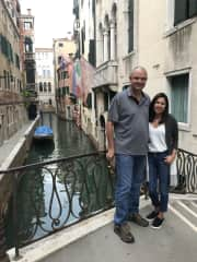 Kevin and Angela Venice trip 2019