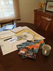 Working on my Day Skipper sailing certification