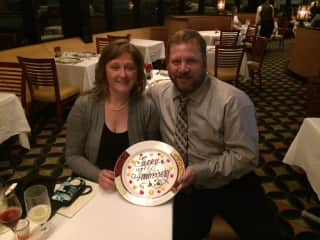 Our anniversary on Disney Cruise