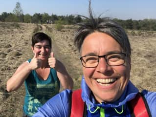 Long distance hike in the Netherlands April 2019