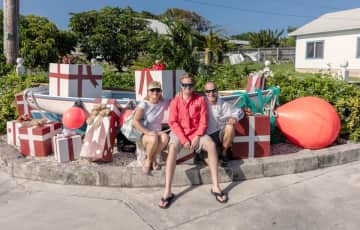 Traveling in the Bahamas, Christmas 2015