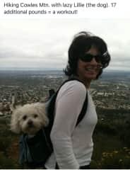 Hiking with my bestie