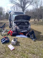 David is a mechanic and he loves it.