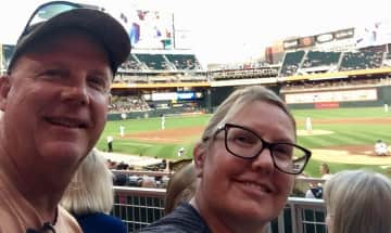 Mike and Sarah -Fun is Traveling to Baseball Stadiums