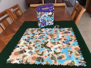 Lynette loves a challenging jigsaw!