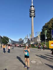 Running is one of my passions ! In this pic I just finished my first half marathon in Munich in October 2019.