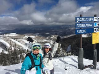 My cousin and I in Park City, Utah. She is one of my favorite travel buddies