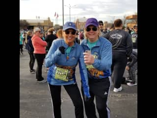 Cowtown 5k marathon.  Love to participate even if I do not run the entire time!
