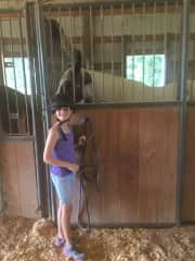 Granddaughter who also loves animals