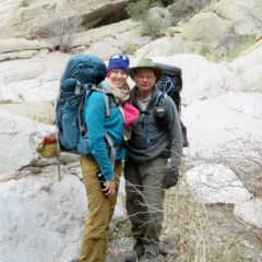 Backpacking with Dad at Big Bend