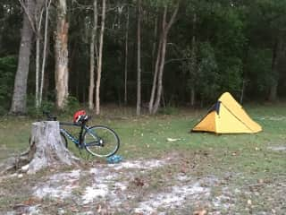 My solo camping set up - Central Coast, NSW. Gotta love a long weekend away :)