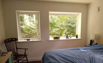 My bedroom from the door