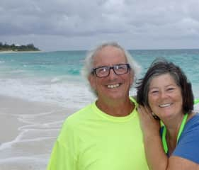 Hope Town, Abacos. Bahamas the last winter sailing Good Hope. It was a great 5 years.