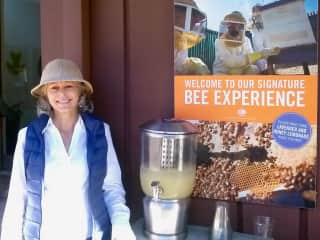 Jo Ann. What do you want to know about bees?