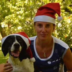 Merry Christmas, Pip and I, Botswana