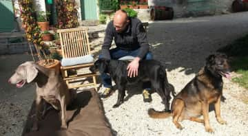Beau, Cassie and Lune   France