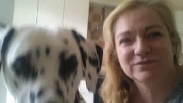 A spotty selfie