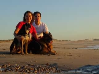 Raquel & Daniel, Simão & Juba