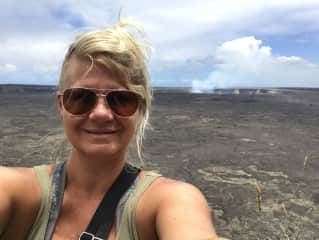 Hiking Mount Kilauea in Hawaii in July 2017