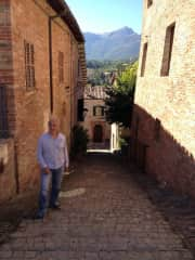 Peter exploring Italy between house sits