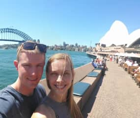 Ryan and Jess in Sydney!