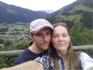 My husband Vassili and me