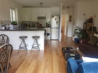 The lounge/kitchen
