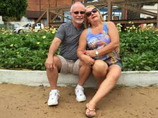 Ray and Shirley visiting friends  in Santa Tereza-ES, Brazil-WOW