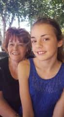 Julie scanlan with grandaughter