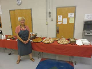 Breakfast pastries for 100 hungry teachers!