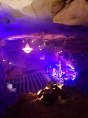 We saw a concert at a place called Cumberland Caverns. Yes, the concert was in a cave!