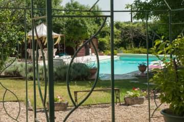 pool/garden view