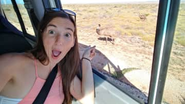 Okay not quite a pet but I made a new emu friend that day :)