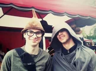 Having fun at Oregon Renessance Fair