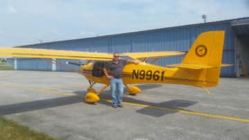Perry and his Aerotrek A240