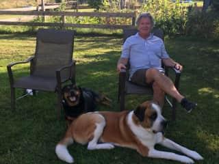 CJ with Winston & Ceasar Glammis Ontario