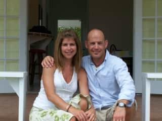 My husband Mark & I