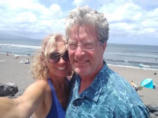 This is MaryAnn and Gary  and was taken July 2019 in Sao Miguel, Azores