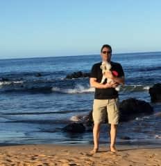 Kimo 6 months old with Don Maui Nov 2018