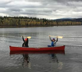 Canoeing Canadian Style
