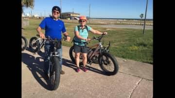 Laurel and Doug in Galveston