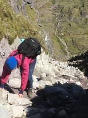 Devils ladder hike in Ireland