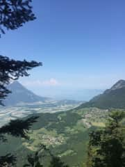 WALK TO THE NID D'AIGLE