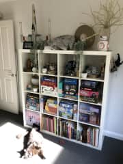 I have a great collection of board games so feel free to invite a couple of friends to enjoy a quiet games night here.