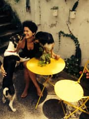 Flor with Simona and Uma