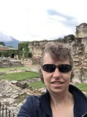 Here I am in Guatemala