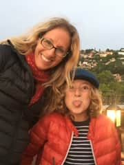Me and my son having fun in San Miguel