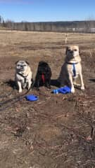 Charlie, Norah Eddie in Fort Smith NWT